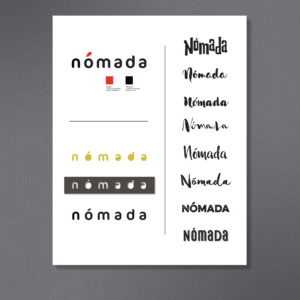 Logo concepts for Spanish Nomad restaurant