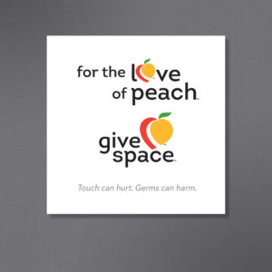 New Peach Design for Give Space